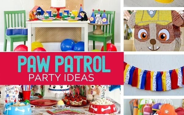 Paw Patrol Party Ideas + Mighty Pups Review