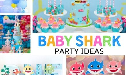 Adorable + Fun Baby Shark Birthday Ideas