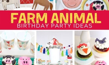 Adorable + Playful Farm Birthday Party