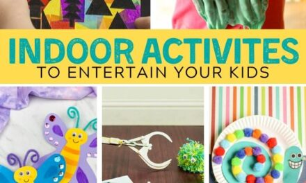 Fun Indoor Activities for Kids + Boredom Busters