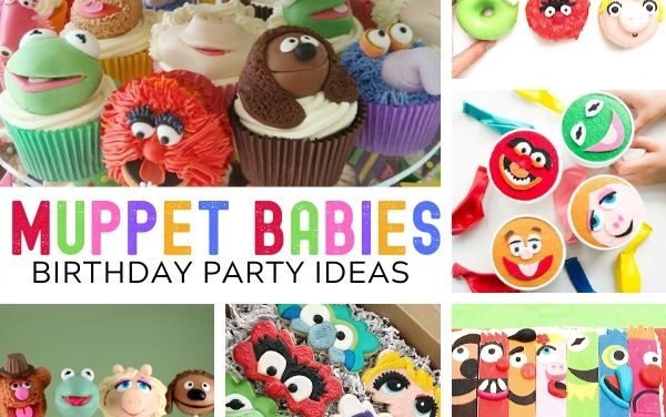 Colorful Muppet Babies Birthday Party Ideas
