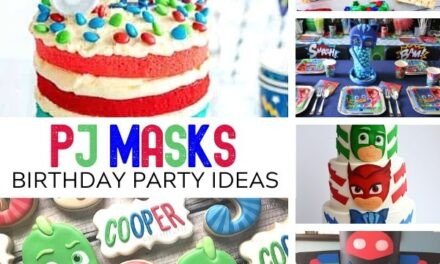PJ Masks Birthday Ideas to Save the Day