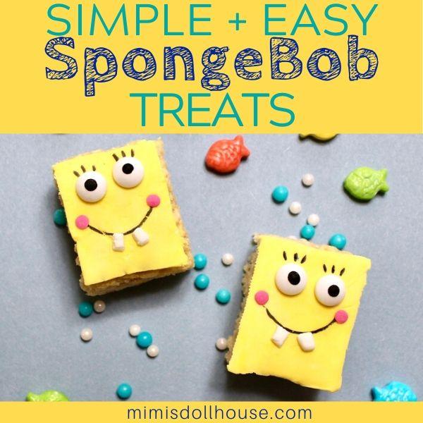 Easy DIY SpongeBob Treats