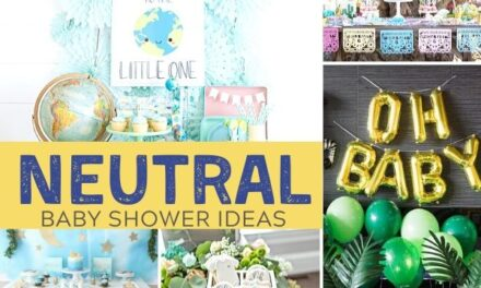 Stunning + Simple Gender Neutral Baby Shower Themes