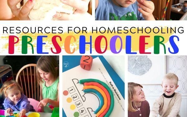 Resources for Homeschooling Preschoolers