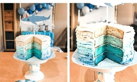How to Bake an Ombre Layer Cake
