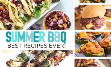 70+ Summer BBQ Recipes that are Perfect!