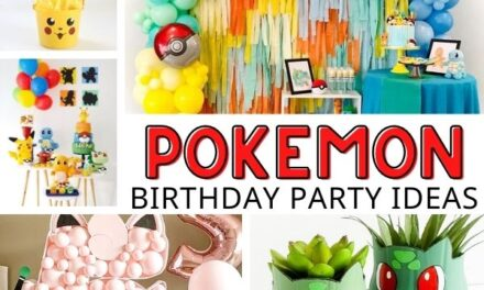 Catch-worthy Pokemon Party Ideas
