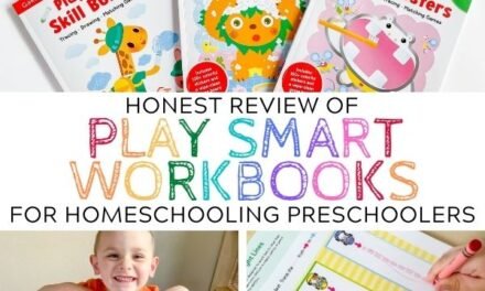 Using Play Smart Workbooks for Preschool