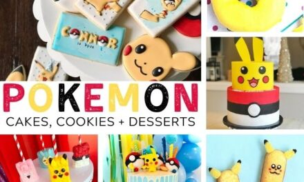 23 Unique Pokemon Cakes, Cookies + Desserts