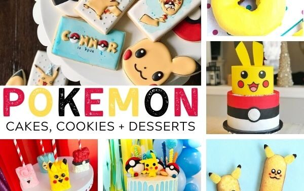 23 Unique Pokemon Cakes, Cookies + Desserts