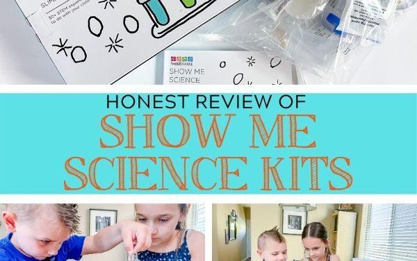Kindergarten Show Me Science Review for Homeschool