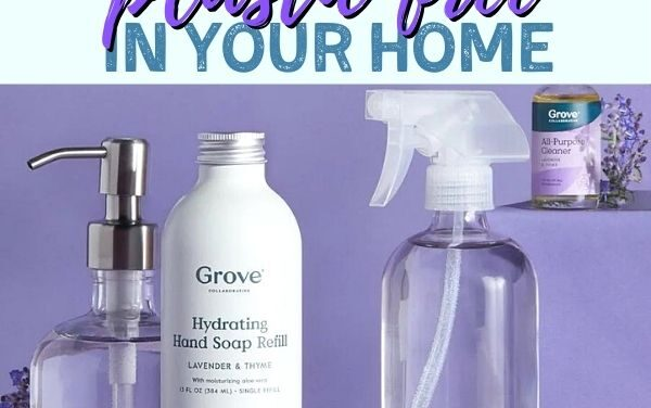 How to Clean your Home without Plastic using Grove