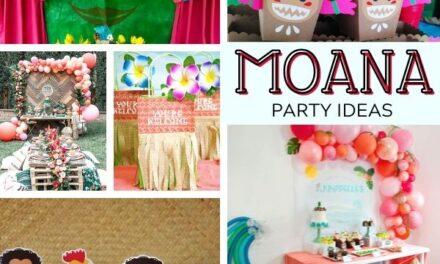 21 Stunning Moana Party Supplies + Ideas