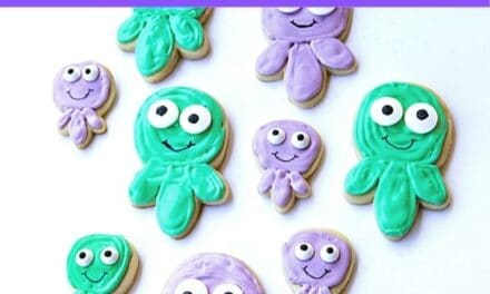 Easy + Cute Octopus Cookies Recipe
