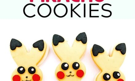 Pikachu Cookies You Gotta Catch!
