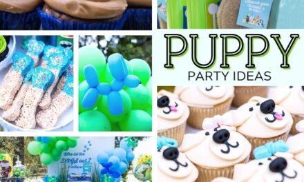 Happy Bark-day Puppy Party