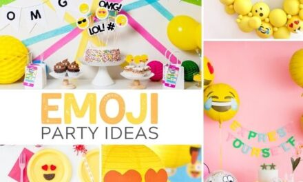 28 Emoji Party Ideas that are not Meh!
