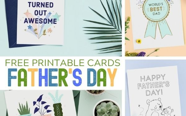 FREE Father's Day Cards for Dad