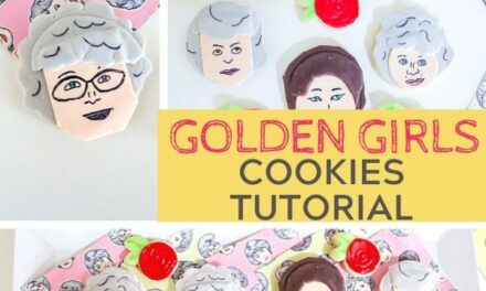 Fun Golden Girls Cookies for a Party