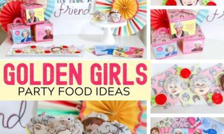 Fun Golden Girls Party Ideas for Grown-up Girls