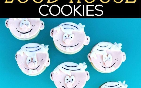Easy DIY Loud House Cookies + Review