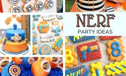 On Point Nerf Party Food Ideas