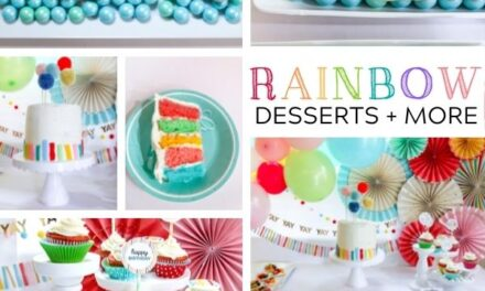 Colorful DIY Rainbow Desserts