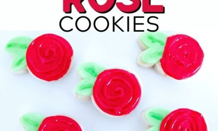 Simple Rose Cookies You Can Bake